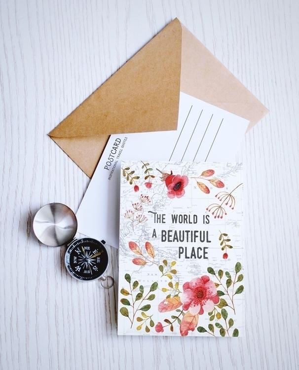 beautiful  - painting, postcard - judynguyen-5846 | ello