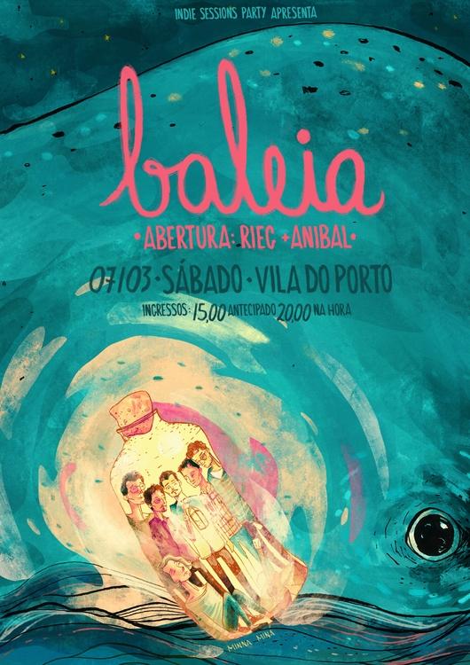 Baleia - baleia, band, poster - minnamr | ello
