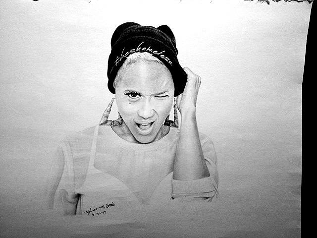 Portrait drawing Youtuber Shame - melissacookart | ello