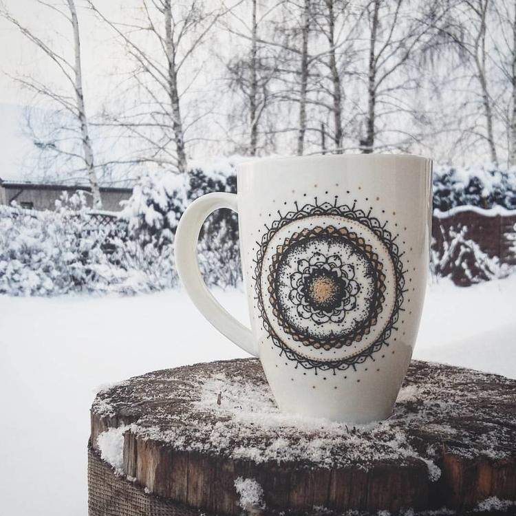 coffee, coffeemug, handmade, handdrawn - saffiri | ello