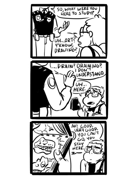 leave France - comics, comic - camperjon | ello