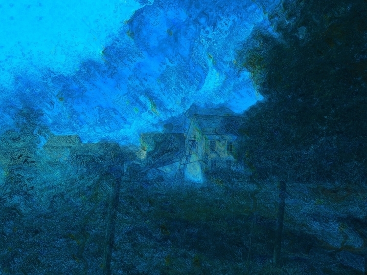 hillside farm - digitalart - joachimwilbers | ello