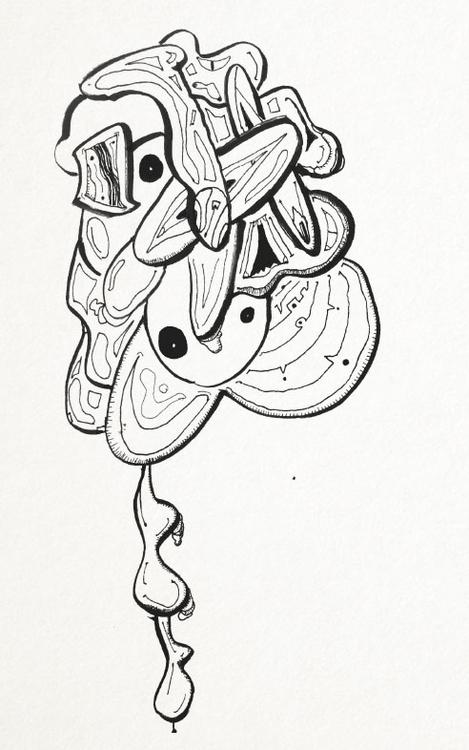 SketchTown - 009, sketch#sketchbook#drawing#ink#penink#characterdesign#character#fantasy#cartoonsketchtown - rubbo | ello