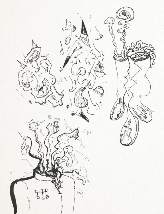 SketchTown - 013, sketch#sketchbook#drawing#ink#penink#characterdesign#character#fantasy#cartoon - rubbo | ello