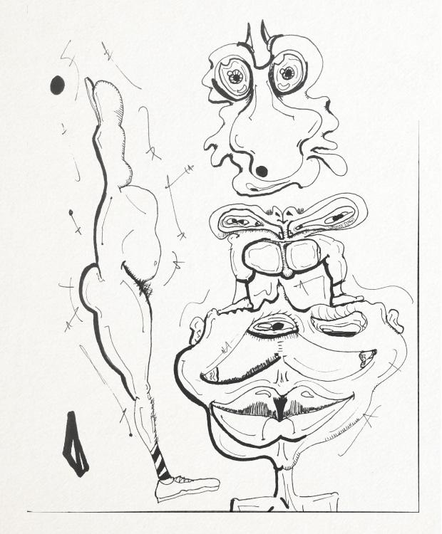SketchTown - 015, sketch#sketchbook#drawing#ink#penink#characterdesign#character#fantasy#cartoon - rubbo | ello