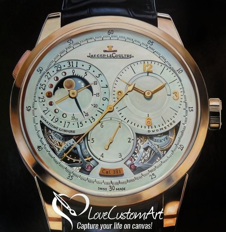 Jaeger Le Coultre Watch - Oil P - lovecustomart | ello