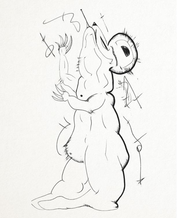 SketchTown - 017, sketch#sketchbook#drawing#ink#penink#characterdesign#character#fantasy#cartoon - rubbo | ello