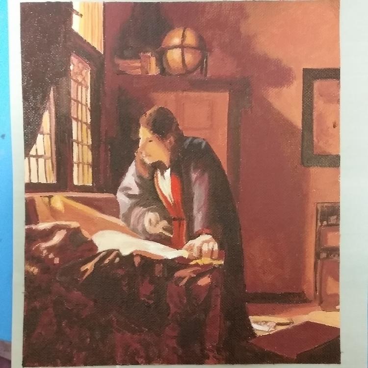 Master study. Vermeer - sideviewart | ello