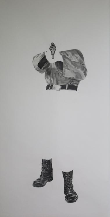 life size . Graphite charcoal p - anasghauri | ello