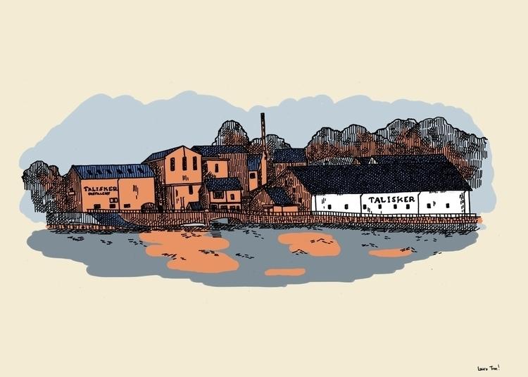 favourite distillery - Talisker - loratarn | ello