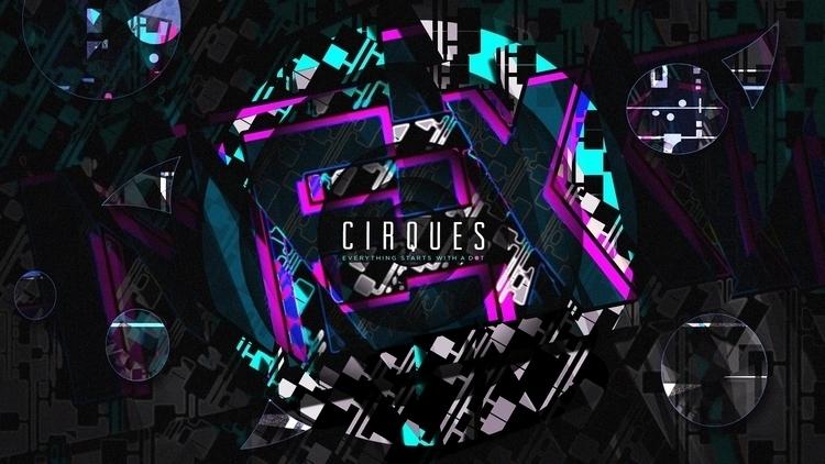 Cirques - graphicdesign, typography - rubbo | ello