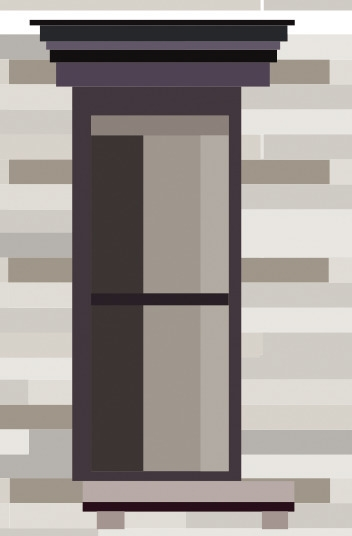 NYC window 1 - illustration, design - grafika-5226 | ello
