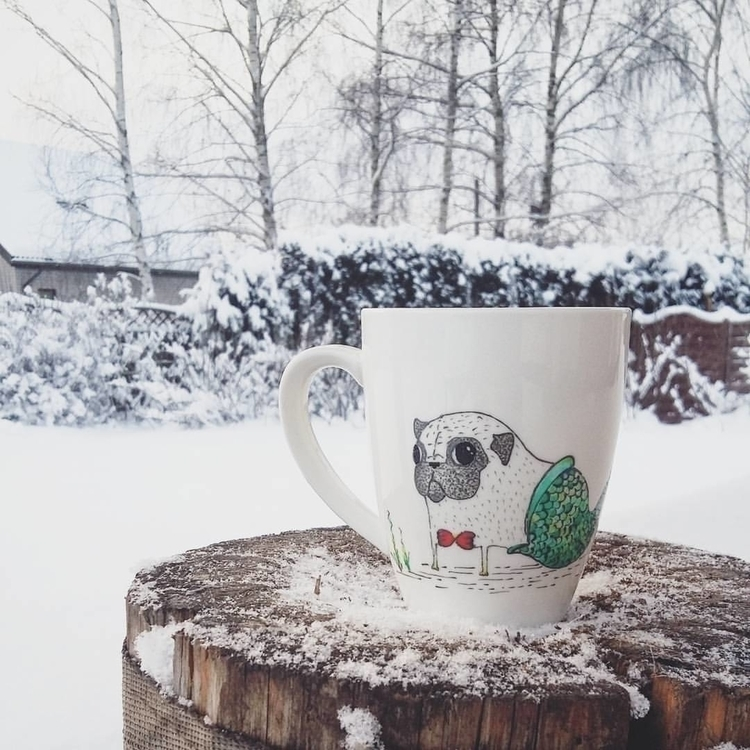 fanart, coffee, coffeemug, tea - saffiri | ello