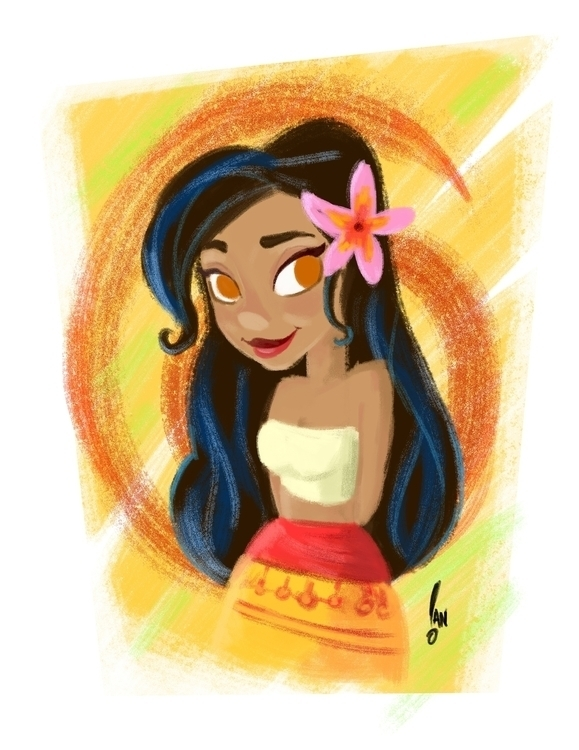 Disney Moana obsession real - moana - sketchian-5498 | ello