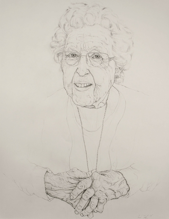 Grandmother - drawing, pencildrawing - kmjoslin | ello