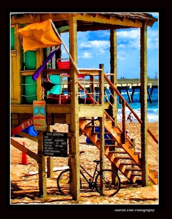 Lifeguard Hut Detail, Delray Be - martfine   ello
