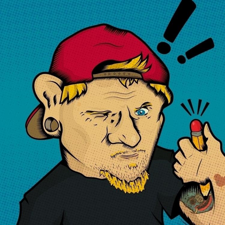 illustration, digitalart, cartoon - ruzsiankid | ello