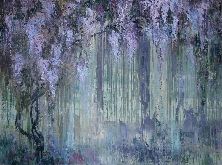 Glycine 150x200 Oil canvas. 201 - tanya_vasilenko | ello