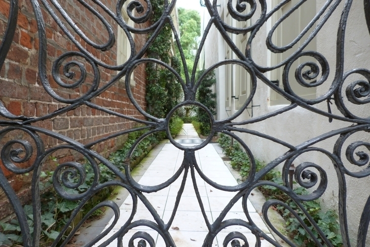 Iron worked Gate - Historic Cha - aphektingdesign | ello