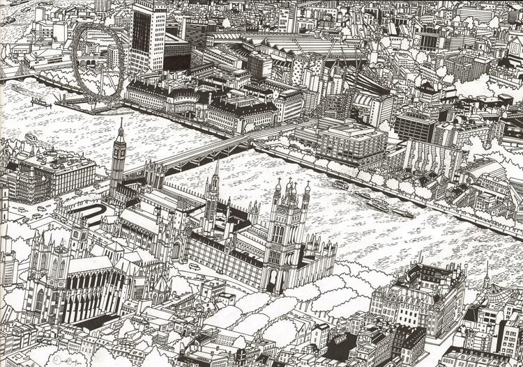 Drawing, London, David Barth - davidbarth | ello