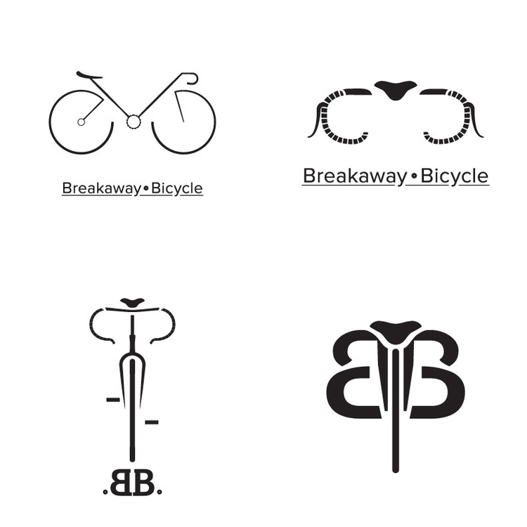 Concept Logo: Breakaway Bicycle - kmjoslin | ello