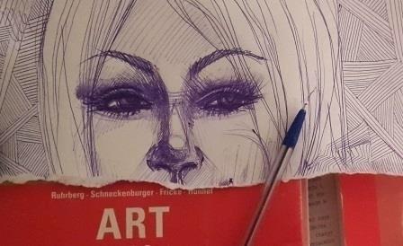 illustration, sketch, portrait - octoberrrr | ello