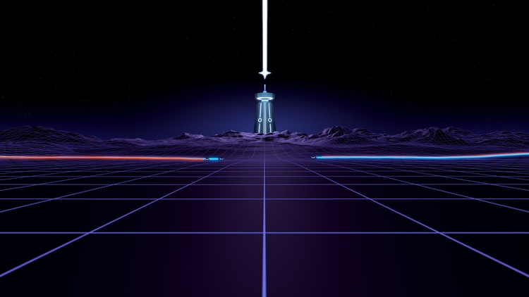 Grid: wanting proper TRON wallp - axiomdesign | ello