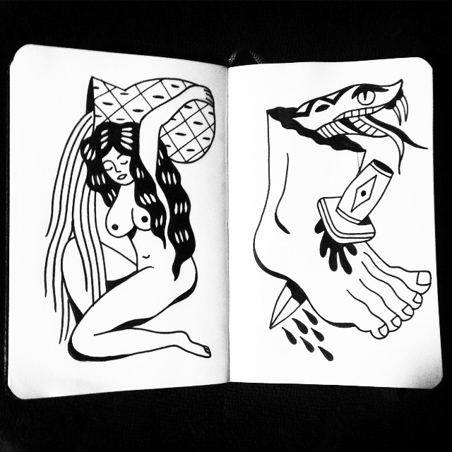 black, ink - johnstarr-5395 | ello