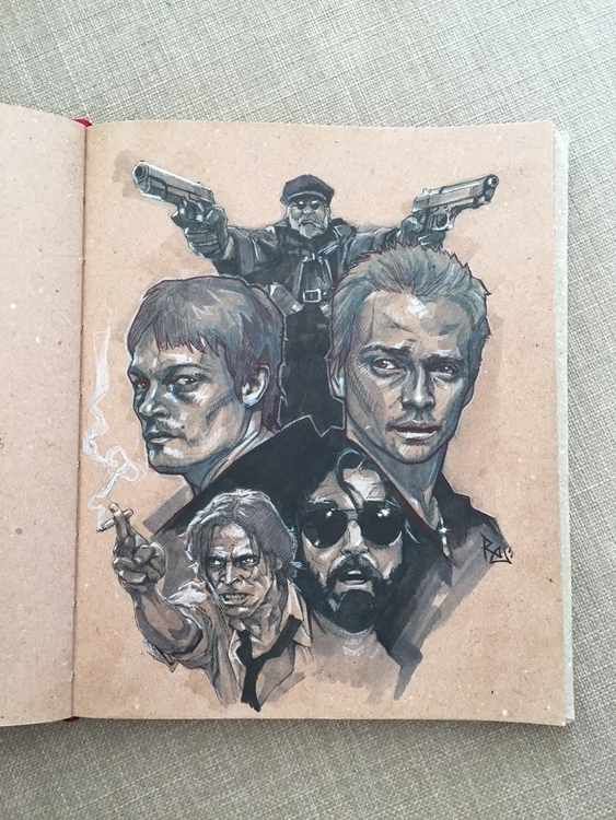 sketch sketchbook - portrait, poster - robertekblom | ello