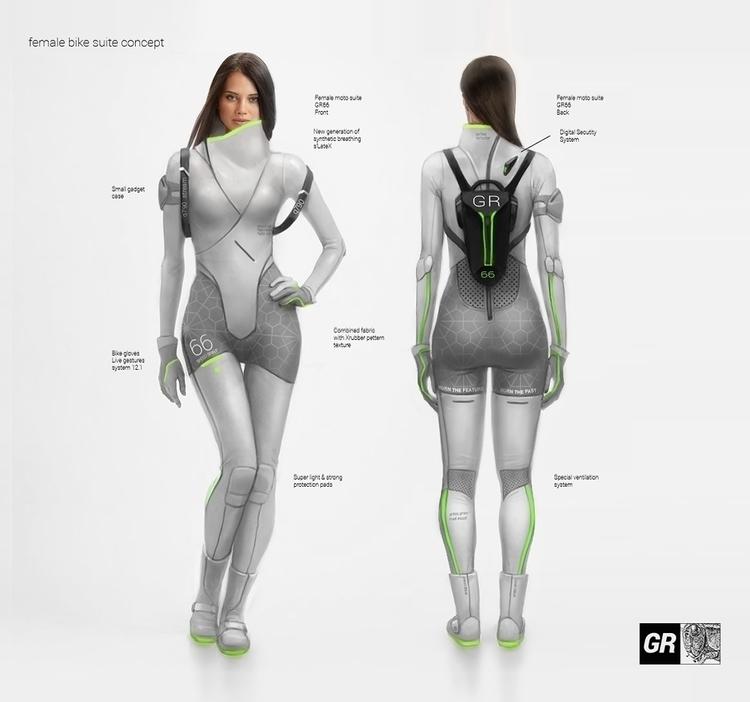 Grasshopper Pilot - sci-fi, scifi - repius | ello
