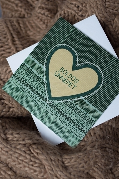 card, christmas, heart, green - felichart | ello