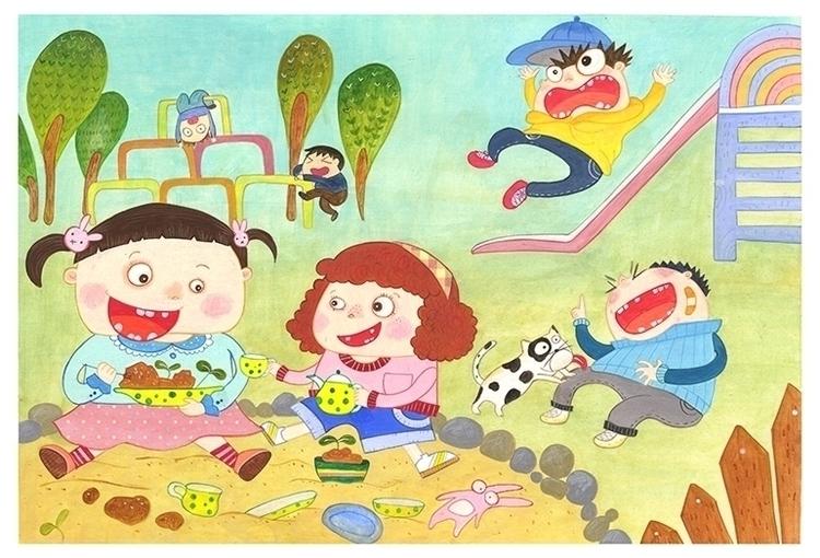 children'sillustration, illustration - eun-1516 | ello