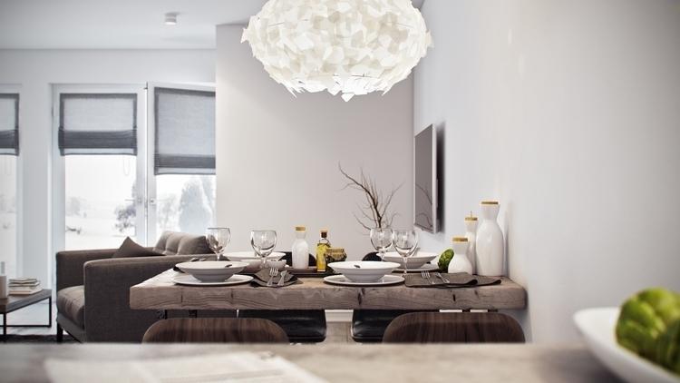 Haus - 3d - olesyaligay | ello