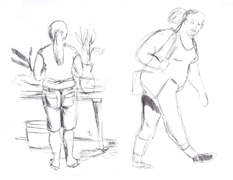 Dibujando en la calle - 2, 2013 - alfredointoci | ello