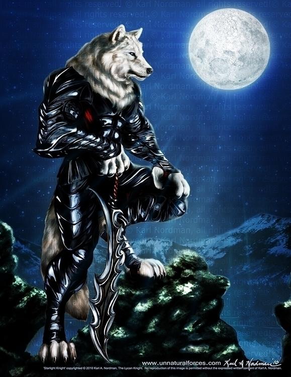 Starlight Knight - thelycanknight | ello