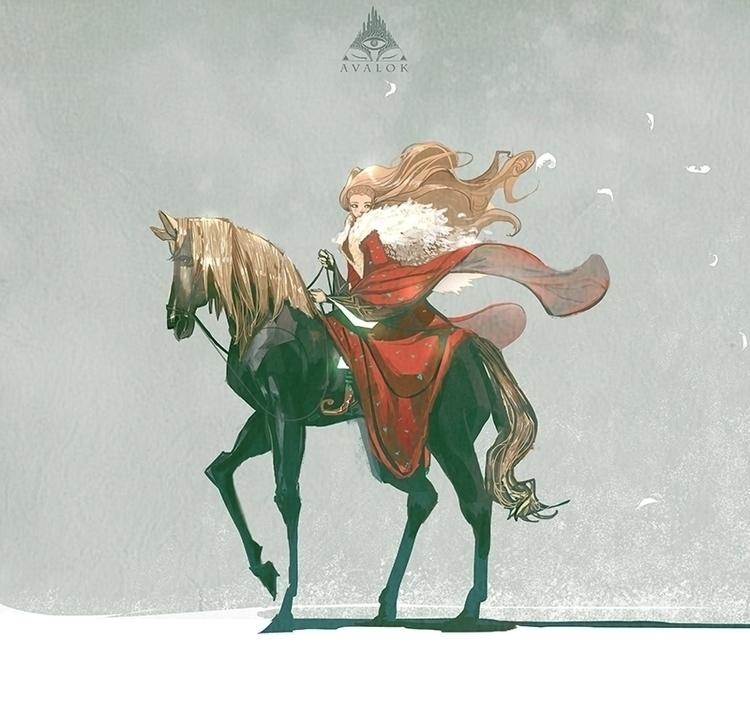 Chu - nguyenquochieu, horse, illustration - nguyenquochieu | ello