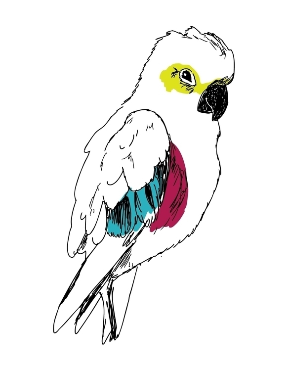 Parrot Print Created iglo+indi  - karitasdottir   ello