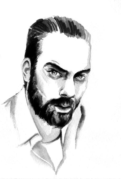 portrait, torreflorim, musician - annagosteva | ello