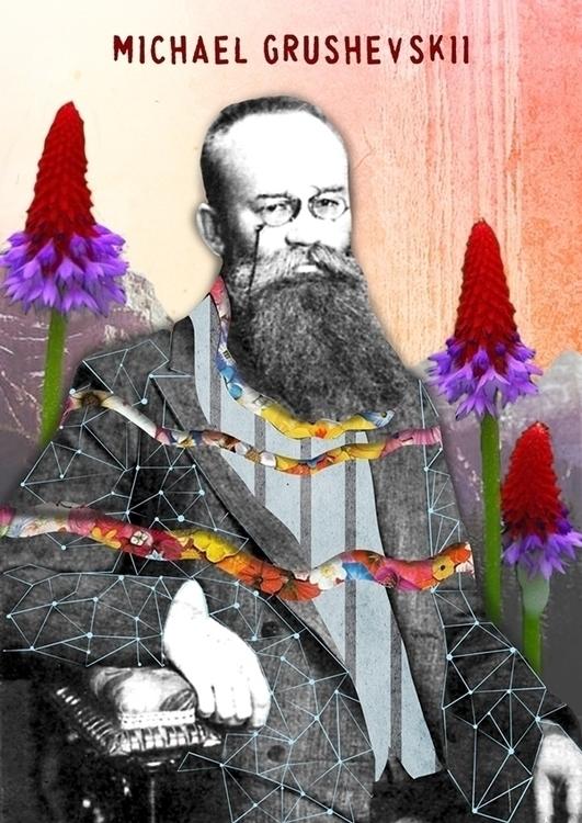 Grushevskii - poster, collage, michaelgrushevskii - velcheva | ello