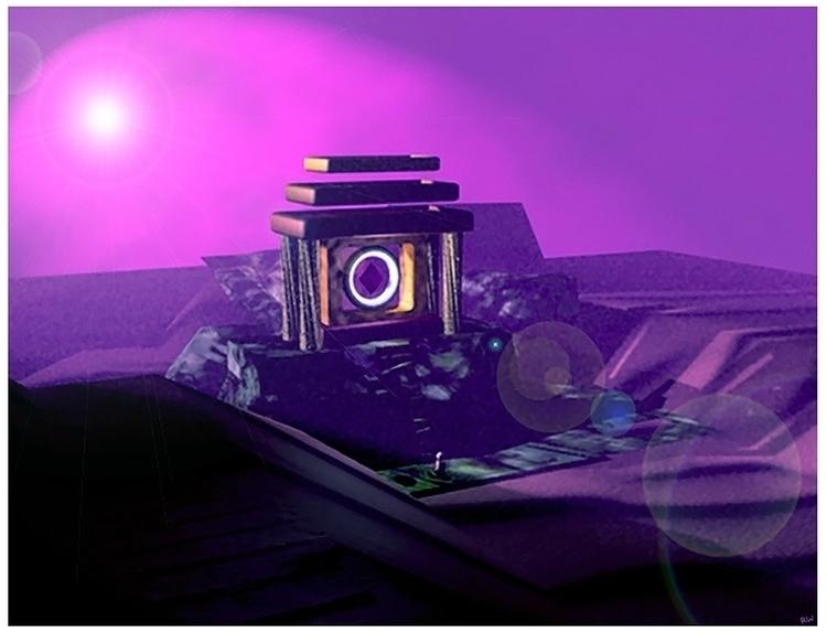 Alien Landscape 2, 3D modeling - wilkinso-5391   ello