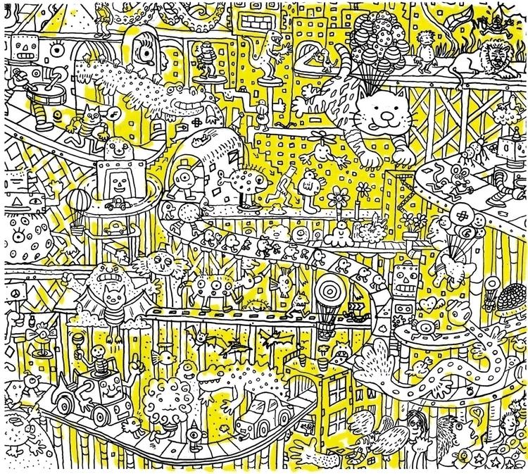 illustration, characterdesign - stuartadams-7884 | ello