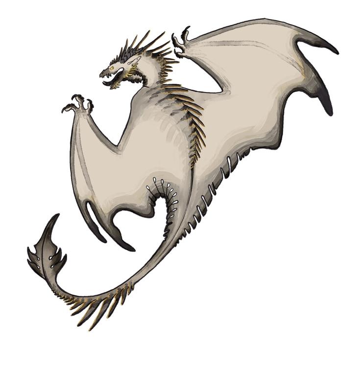 cranky dragon - characters, characterdesign - mernolan | ello