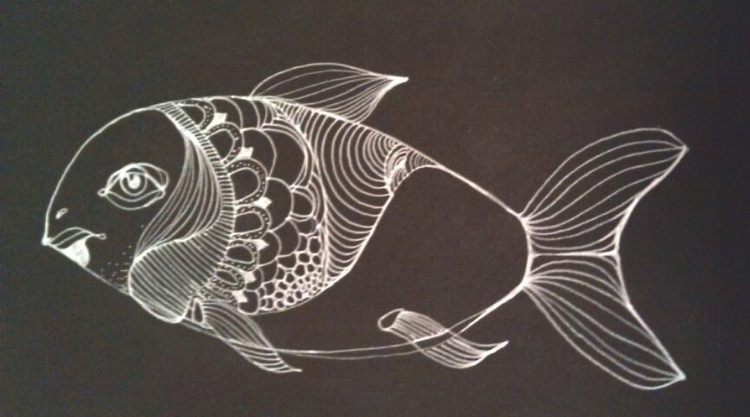 FISH - illustration, painting, drawing - emilio-7671 | ello