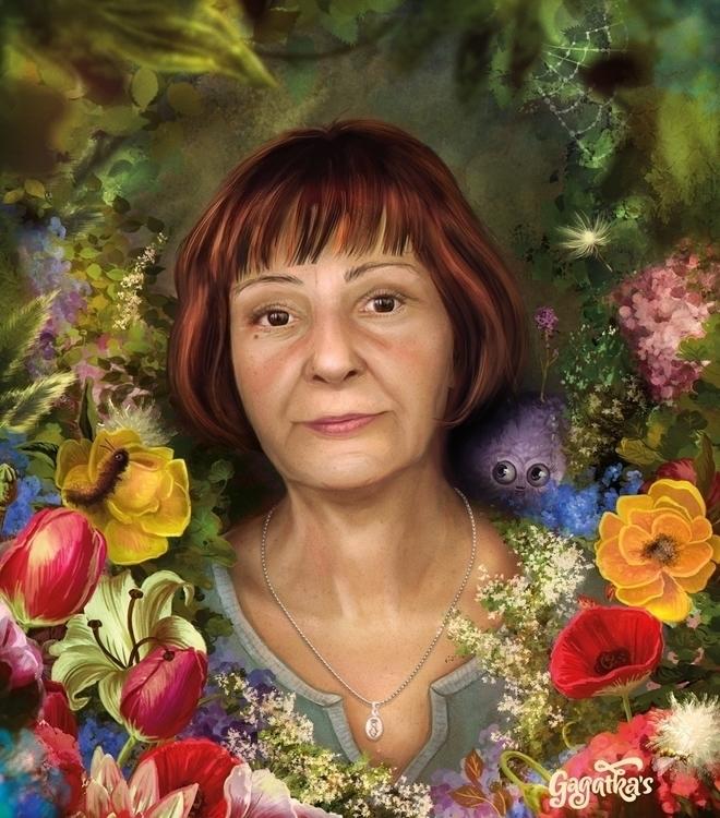 Portrait Mom Day - give today,  - gagatka   ello