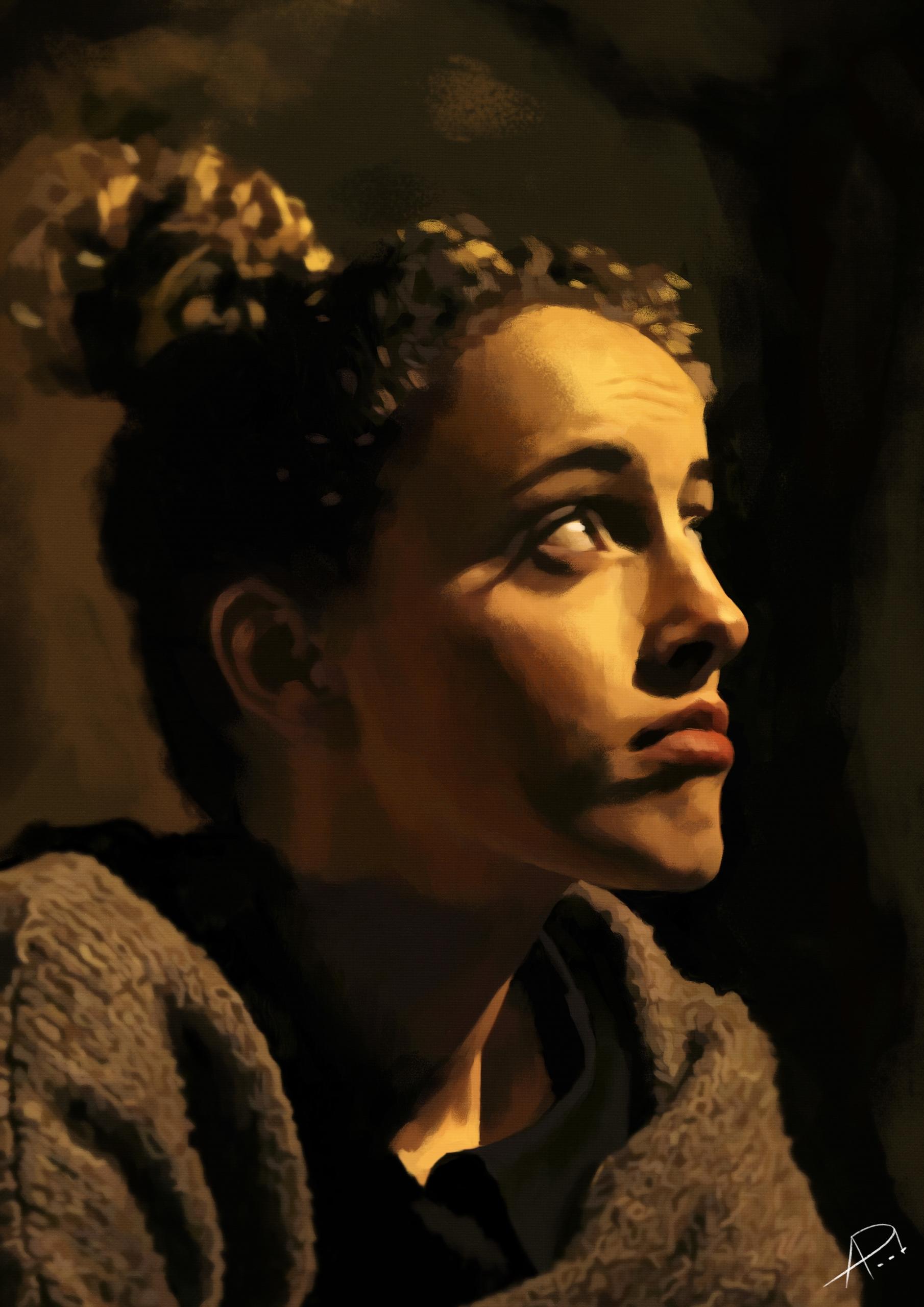 Silent Night Model: Sara Valent - apart-2857 | ello