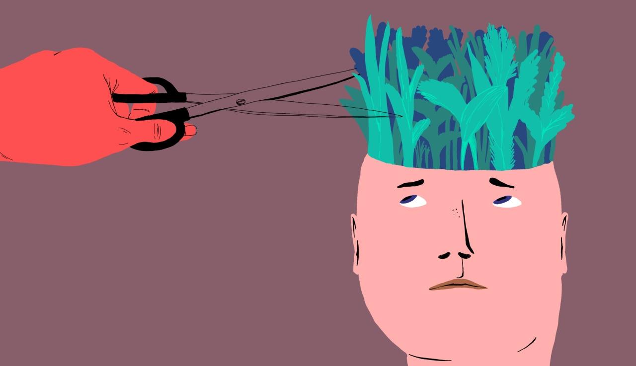 junglemind - #illustration#magazine#psychology#digital#drawing - zsannakreif | ello