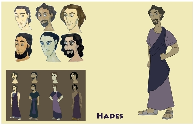 Hades design sheet - greekmythology - gallagirl | ello