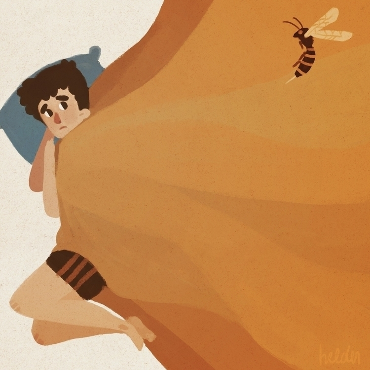 predatory wasp palisades song S - holiventrae | ello