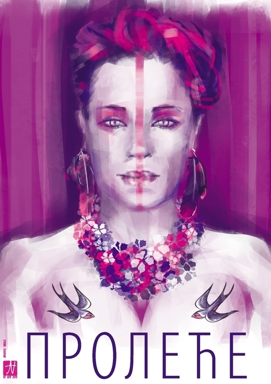 Spring Shaman - illustration, painting - raschomon | ello