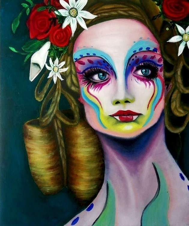 Ninfa - illustration, painting, conceptart - jonatanleyton | ello